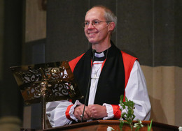 Archbishop of Canterbury, Justin Welby, at St Paul's Cathedral Melbourne